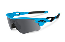 Oakley Radarlock Polarized Path matte glacier/black iridium